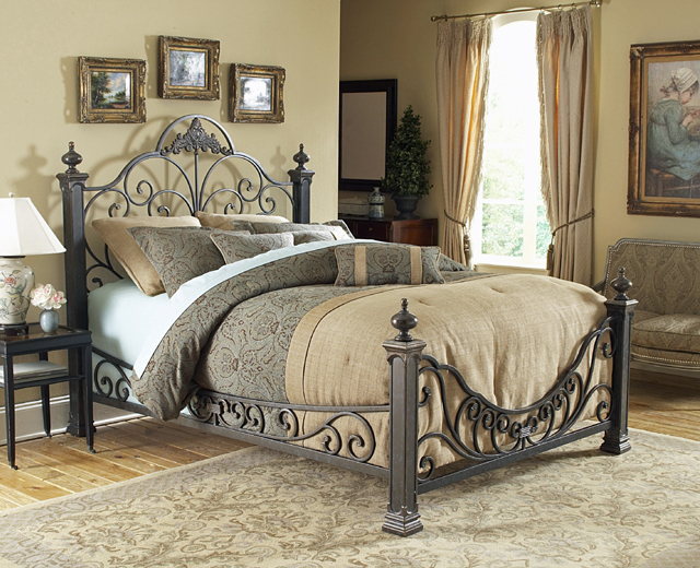 Baroque Bed & Rails