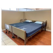 Can you push two hospital beds together to make one bed?