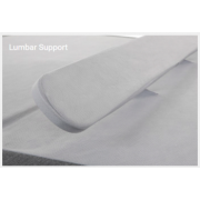 Lumbar support can make all the difference in an adjustable lifestyle bed.