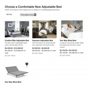 How come your adjustable beds cost more than $400?