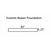 Can you make me a queen box spring or wood foundation that is 6.25 inches high?