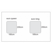 Can you ship a European king size mattress to Vancouver Island
