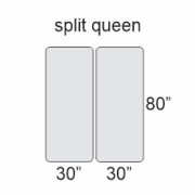 Does anyone buy split queen instead of regular queen mattresses to make it easier to store them?