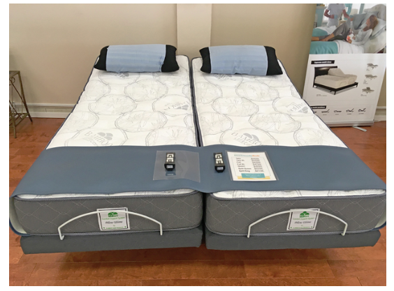 King size adjustable bed store Ontario